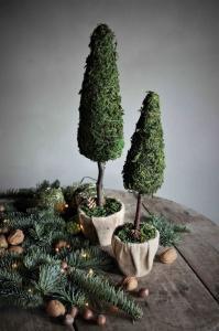 Dekorträd, från Majas lyktor säljs till förmån för Barncancerfonden