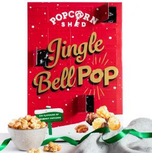 Jingle Bell Pop - Adventskalender med popcorn (Popcorn Shed)