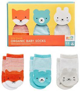 Ekologiska Babystrumpor 3-pack