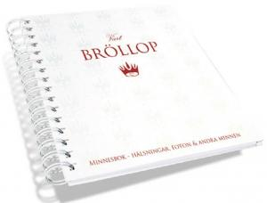 Vårt Bröllop Minnesbok (Gästbok)