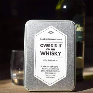Overdid It On Whisky Kit - Räddningskit för baksmälla