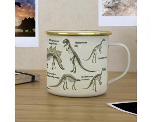 Emaljmugg Dinosaurier