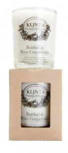 Massageljus/Doftljus Bubbel & Rosa Grapefrukt från Klinta