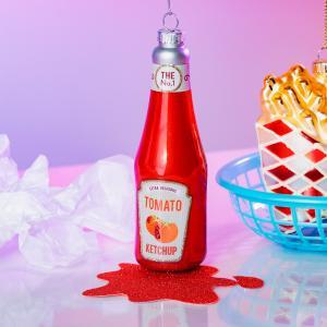 Julgranskulor Ketchup