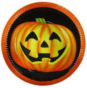 Halloweentallrikar, 8st