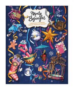 Chokladkalender Winter Wonderland Vegan (blå) - Monty Bojangles