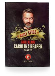 Carolina Reaper Chilipulver (vindstyrka 15) från Chili Klaus