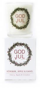 Massageljus/Doftljus Juldoft (Körsbär, Äpple, Kanel) från Klinta