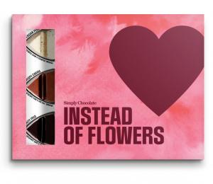 Instead of flowers - Premium chokladpraliner