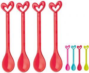 Happy Spoons, Hjärta, från koziol säljs på Presenteriet.se
