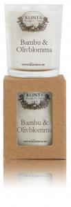 Massageljus/Doftljus Bambu & Olivblomma - Klinta