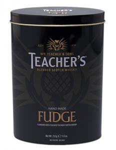 Whisky Fudge smaksatt med Teacher´s, tillverkad av Gardiniers of Scotland