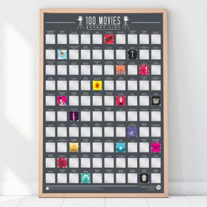 Affisch Bucketlist 100 Filmer