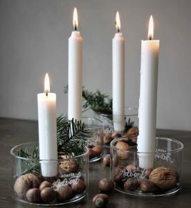 Ljuslyktor Advent, från Majas lyktor säljs till förmån för Barncancerfonden