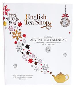 Te-Adventskalender Ekologisk (Vit förp.) - English Tea Shop