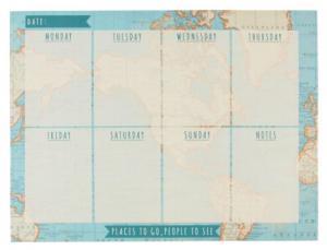 Veckoplanerare Karta