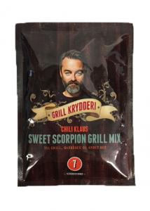 Sweet Scorpion Grill Mix (vindstyrka 7) från Chili Klaus