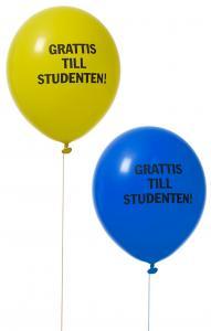 Ballonger, Grattis till studenten (8st)