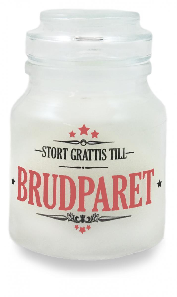 grattis brudparet Stort grattis till brudparet   Budskapsljus | Presenteriet.se grattis brudparet