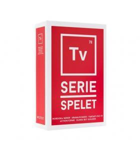 Tv-seriespelet innehåller spännande frågor inom kategorin t-serier