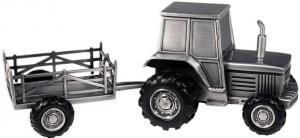Sparbössa Traktor med vagn