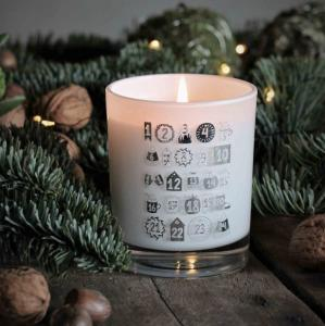 Doftljus Julkalender (Kanel & Äpple) från Majas Lyktor/Barncancerfonden
