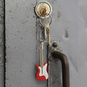 Nyckelring Gitarr