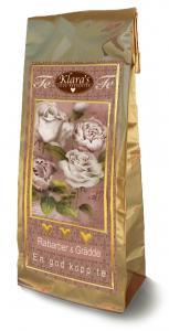 Te Rosa Blommor (Rabarber och Grädde)