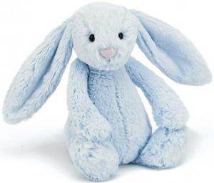 Bashful Bunny, blå från Jellycat