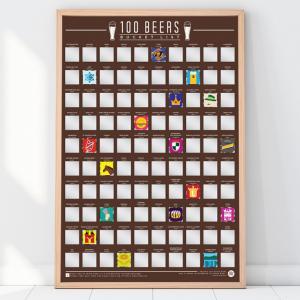 Affisch Bucketlist 100 Öl