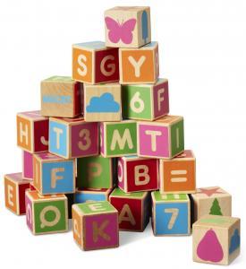 Alfabetsklossar (36st) från Micki leksaker