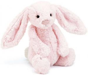 Bashful Bunny, rosa från Jellycat