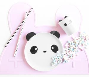 Mugg/Tallrik Panda (melamin)
