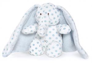 Elefant Big Ears med broderat namn - Teddykompaniet