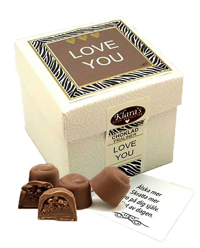 Love You - Lyxiga chokladpraliner