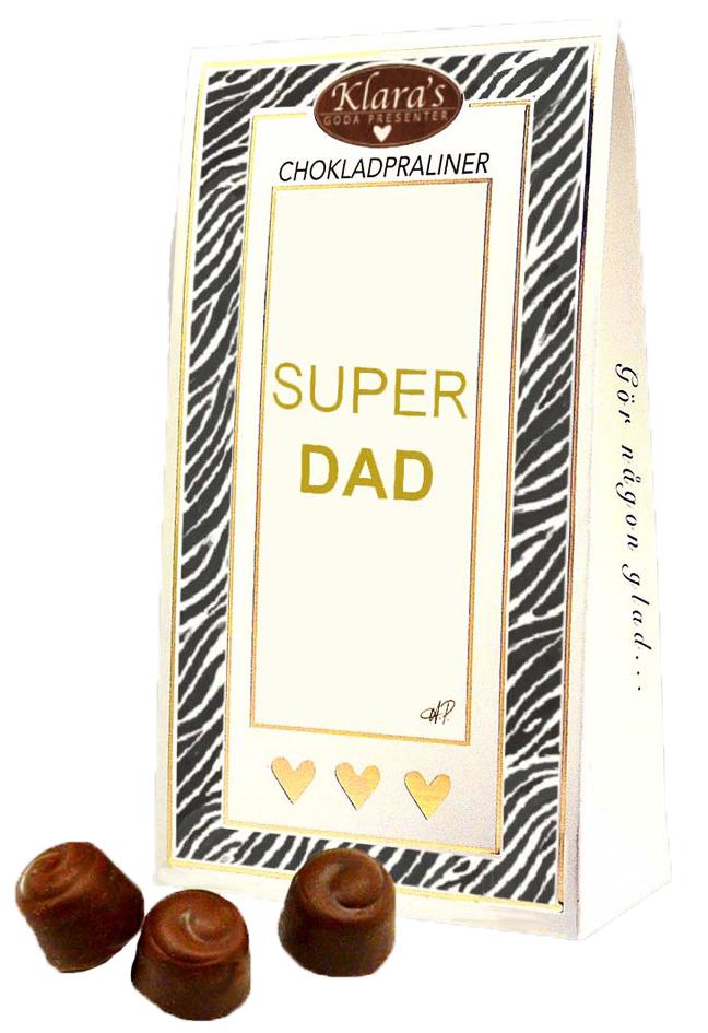 Super Dad - Lyxiga chokladpraliner