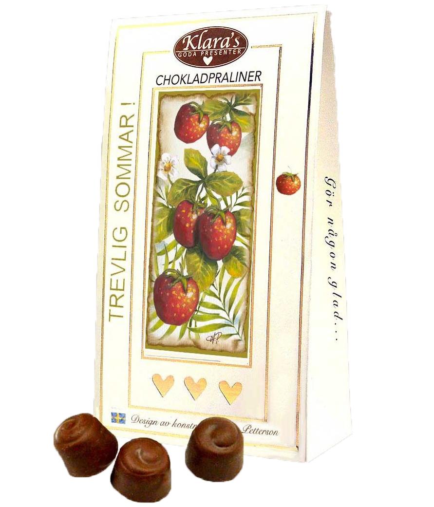 Trevlig sommar - Lyxiga chokladpraliner • Pryloteket