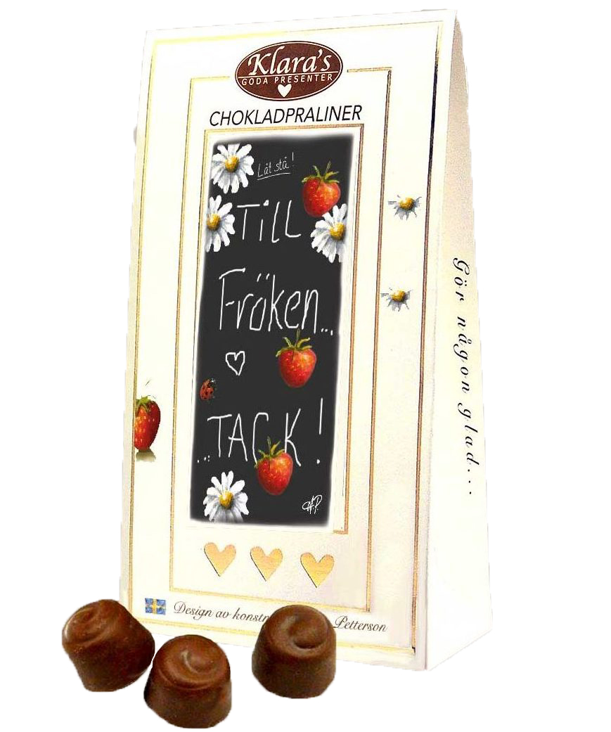 Till Fröken - Lyxiga chokladpraliner • Pryloteket
