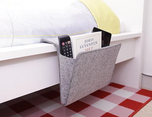 Förvaringsficka till sängen • Pryloteket