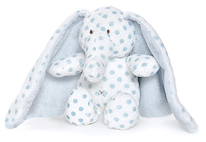 Elefant Big Ears med broderat namn - Teddykompaniet • Pryloteket