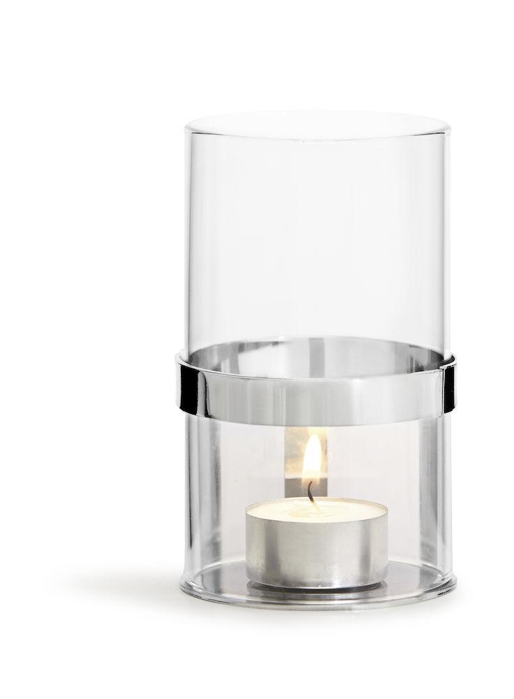 Hold ljuslykta liten (för värmeljus) - Sagaform (Silver)