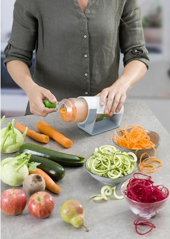 Midi Spiralizer - Skapar grönsaksspaghetti/Tagliatelle • Pryloteket