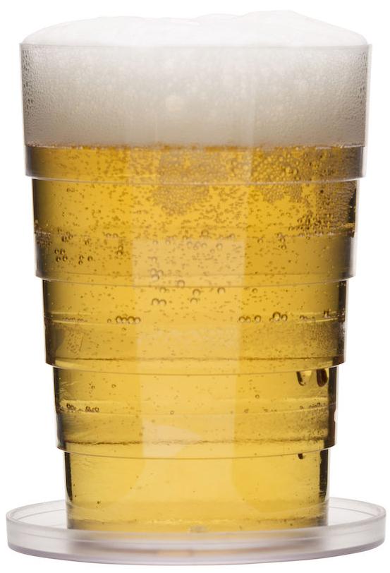 Ihopfällbart Ölglas - Sagaform • Pryloteket