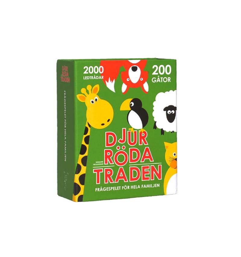 Spel Röda Tråden Djur • Pryloteket