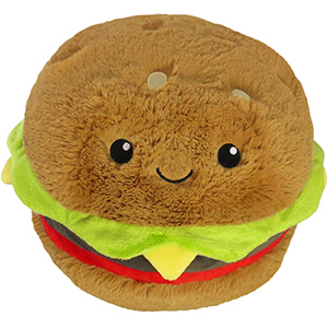 Hamburgare Mjukis - Squishable