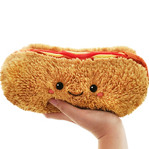 Hot Dog (Varmkorv) Mjukis - Squishable