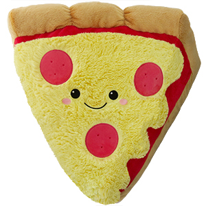 Pizza slice Mjukis - Squishable säljs på Presenteriet.se