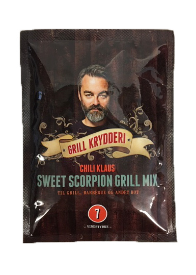 Sweet Scorpion Grill Mix (vindstyrka 7) - Chili Klaus
