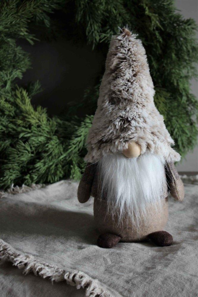 Tomte Santa Noel, 31cm - Majas lyktor/ Barncancerfonden • Pryloteket