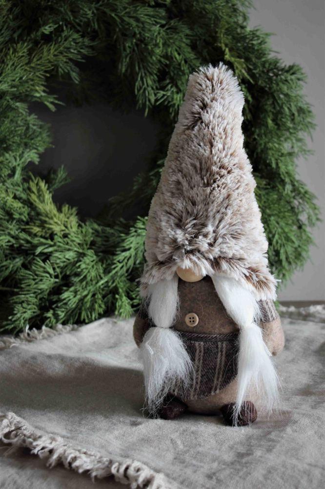 Tomtemor Santa Noelle, 31cm - Majas lyktor/ Barncancerfonden • Pryloteket
